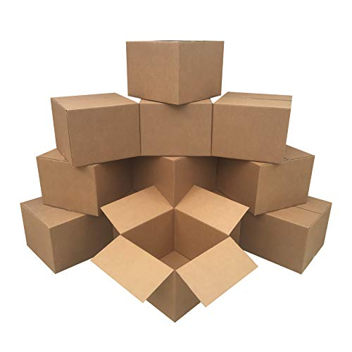 uBoxes 12 Large Moving Boxes 20x20x15-inches Packing Cardboard Boxes