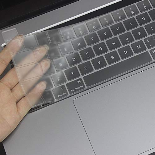 QGT Protector for MacBook Pro 16 inch (A2141) TPU Soft Keyboard Protector