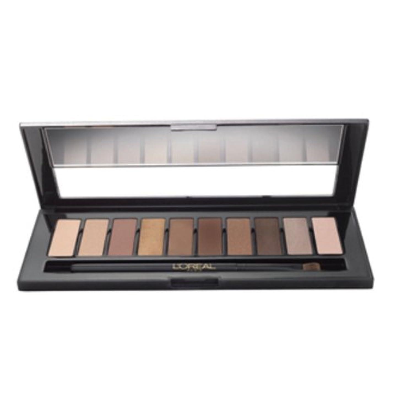 調整可能スラック該当する(6 Pack) L'OREAL Colour Riche La Palette - Nude (並行輸入品)