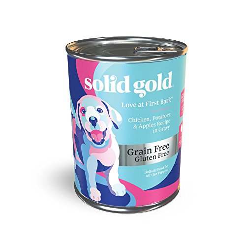 Solid Gold Puppy Wet Food; Love At First Bark...