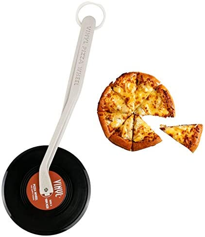 Vinyl Records Pizza Cutter Non stick Pizza Slicer with Non Slip Handle Ideal for Pizza Pies product image