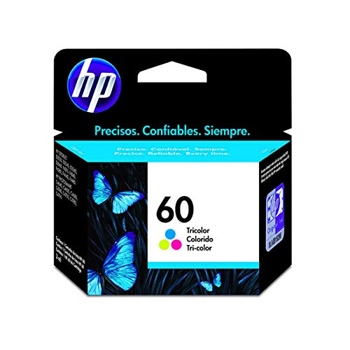 Cartucho HP 60 Colorido Original - (CC643WB)