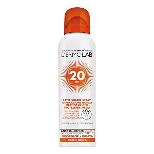 DERMOLAB SOLARE SPRAY CORPO - VISO SPF20 150 ML