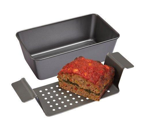 Lift & Serve Professional Meatloaf Pan