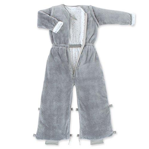 Bemini by Baby Boum 199BMINI92SF Schlafsack, 18-36 M, Softy + Jersey 92 Grizou, grau