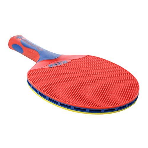 Kongqiabona-UK Raqueta de Tenis Raqueta de Tenis de Mesa de plástico con Doble pez