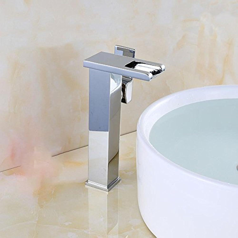 Luziang Wasserbassin Hahnmischhahn LED Tischarmaturen Becken Wasserhahn- Sicherer für in Bad WC Küche