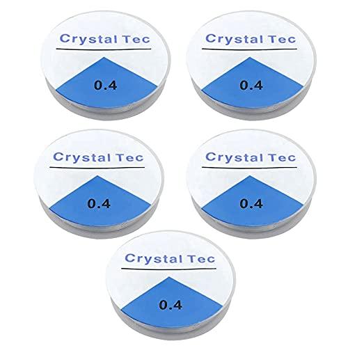 Tomedeks La Cuerda elástica de 120 m * 4 mm se Utiliza para la fabricación de Joyas. Es elástico y Resistente al desgarro