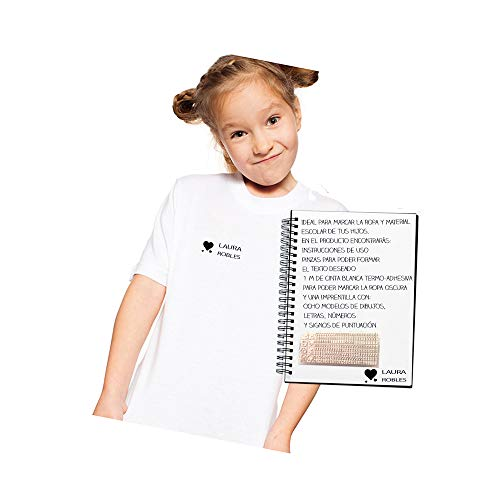 CALLE DEL REGALO Sello textil para marcar ropa personalizado por ti, para ropa y material escolar