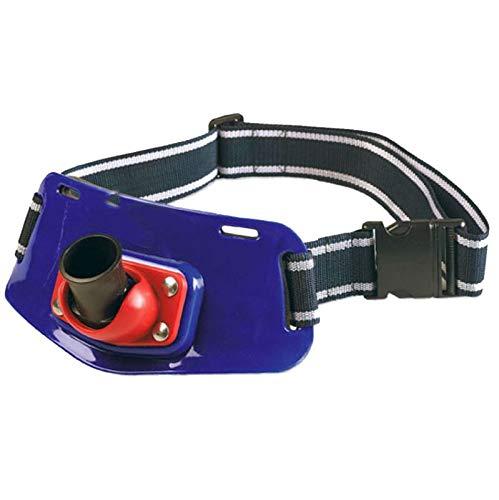 Lineaeffe Cinturón Pesca Curricán Cinturón para Caña Red -Blue Red Blue