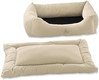Pet Dreams 2-in-1 Plush Bumper Dog Bed