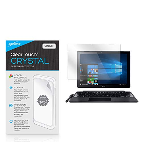 Screen Protector for Acer Switch Alpha 12 (SA5-271) (Screen Protector by BoxWave) - ClearTouch Crystal, HD Crystal Film Skin to Shield Against Scratches for Acer Switch Alpha 12 (SA5-271)