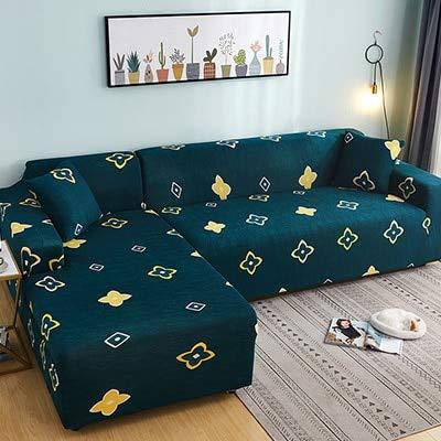 PCSACDF Floral Print Sofa Cover Sofa Handdoek Sofa Cover Elastische behoeften Bestel Sofa Cover Als L-Style Sectional Covers Hoek Sofa Covers 1Pcs 1Pc 45Cm Kussenslopen 13