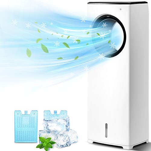 COMFYHOME 2-in-1 Air Cooler, 32' Evaporative Air...