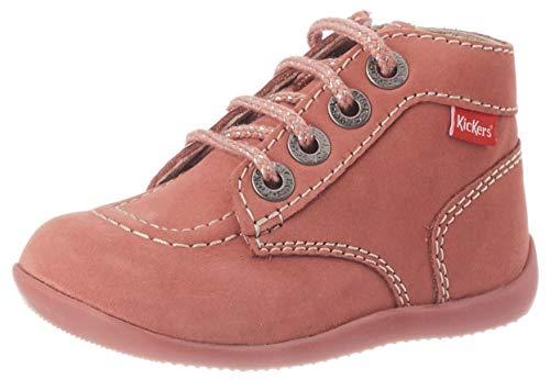 Kickers Jungen BONZIP Stiefel, Pink (Rose Clair Perm 131), 23 EU