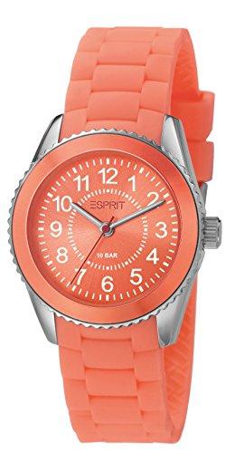 Esprit Unisex Analog Quarz Smart Watch Armbanduhr mit Resin Armband ES106424007