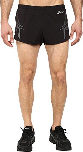 ASICS Pantalón Corto Speed para Hombre, Hombre, M110466, Rendimiento Negro/Piedra, L
