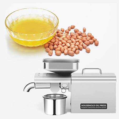 ZZQ Nut Prensa de Aceite de Oliva de Prensa hogar de Acero Inoxidable de Semillas Vegetales Multifuncional extracción de petróleo dispensador de Aceite de la máquina de Oliva H-2