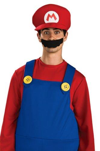 Rubie's-déguisement officiel - Mario Bros - Casquette de Mario- I-49763
