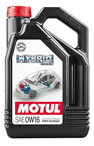 Motul 107154 Motore Ibrido lubrificante Hybrid 0W16 4L