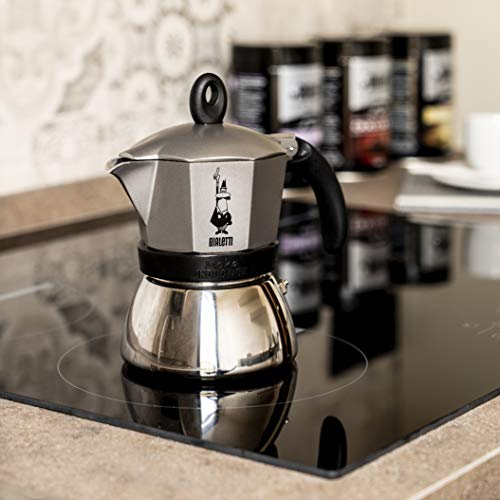 Bialetti Moka Induction Espresso Maker, Anthracite