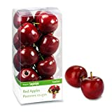 Floracraft Frutta Decorativa, 15/Pkg Mini Mela Rossa