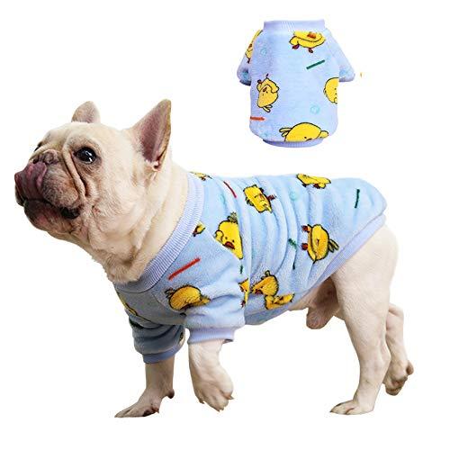 Idepet Abrigos para Perros,Ropa de Gato Abrigo Abrigos de Invierno para Mascotas Sudaderas con Capucha para Perros pequeños y medianos