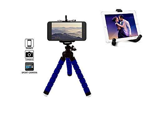Safetysale Mobiele telefoon statief Flexibel, iPhone statief, Samsung statief voor Gopro, iPhone, Samsung, Huawei, Android, iOS, blauw