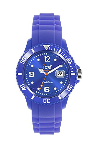 Ice-Watch - ICE summer 2011 Amparo blue - herenhorloge met siliconenarmband - 013775 (Large)