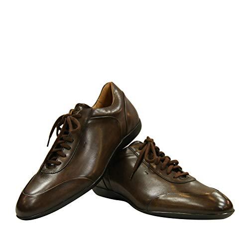 Santoni Club Sneakers Braun MBEA13477DSKVTQIT60 (40 EU, Braun)