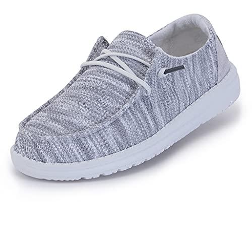 Hey Dude Women's Wendy Sox Glacier Grey, Size 10