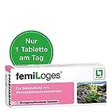 femiLoges, hormonfreie Unterstützung in den Wechseljahren - 50 Tabletten, belegte Wirksamkeit bei...