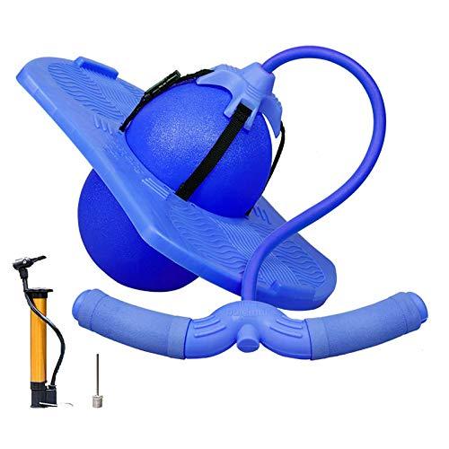MYBF Bola De Salto De Pogo Equilibrio De La Pelota Que Rebota Fitness Body Workout Accesorios con Bomba Y Apoyabrazos, para Niños Adultos
