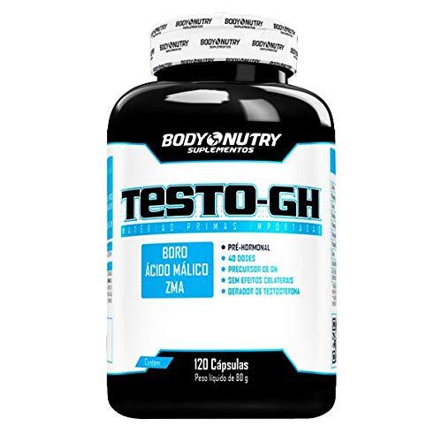Testo GH - 120 Cápsulas - Body Nutry, Body Nutry