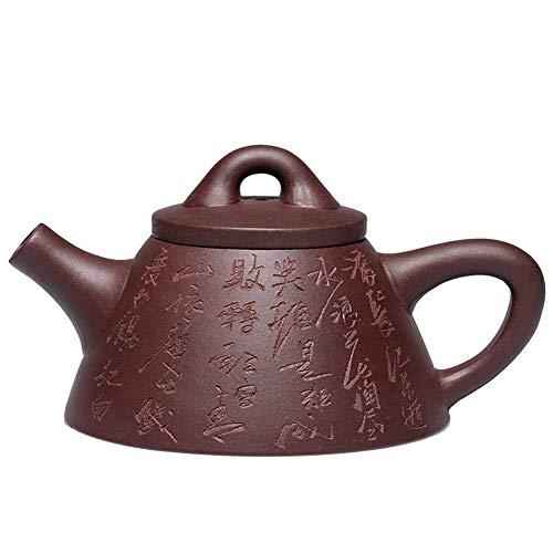 outingStarcase Completa Hecha a Mano Tetera de Overlord Piedra Cucharada Tetera de Kung Fu Juego de té