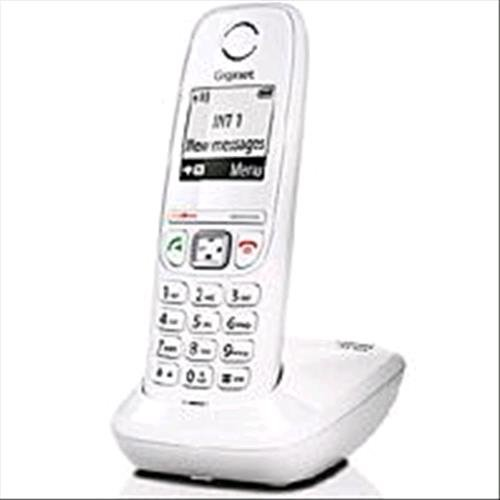 Telecom Italia 771070 Facile Start Gigaset AS405 DECT Marchio TIM, Bianco