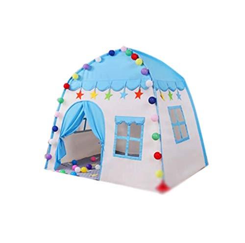qazxsw Tente en Tissu, Dessin animé Petite Maison pour Enfants intérieur Jouet pour Enfants Maison Fleur Motif Tente décorative Voyage Enfant Couchage Tente Enfants Jouet Tente
