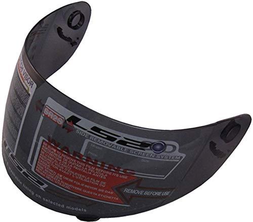 LS2 FF384 FF351 - Integralhelm-Visier für Motorrad-Helm - Schwarz getönt