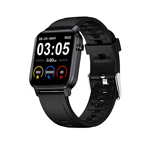 Maxima Max Pro X2 Smartwatch with Oximeter Function for SpO2, 1.4\' Full Touch Screen Colour display with 2.5 D Curved, 9H...