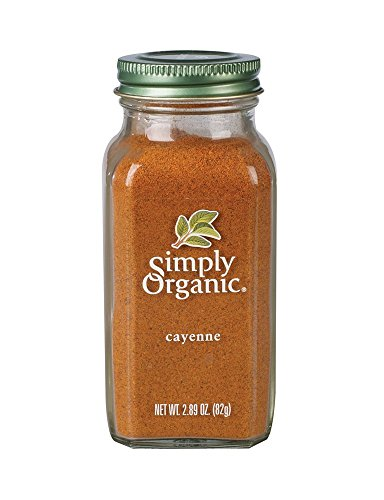 Simply Organic Cayenne Pepper Certified Organic, 2.89 oz Containers