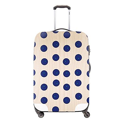 creativebags carcasa protectora Protector de bolsas de viaje maleta equipaje lavable Beautiful L(26-30 Inch Cover Only)