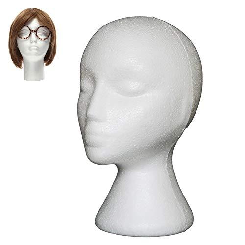 Cabeza de maniquí Hilai con cara hembra (1)