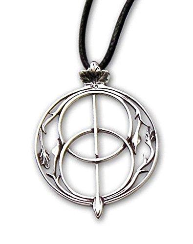 Anhänger Chalice Brunnen Keltischer 925er Silber Schmuck etNox - Für Intuition - mit Lederband