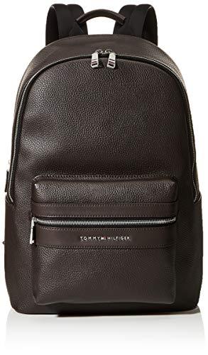 Tommy Hilfiger TH Modern SMU Backpack, Mochila Hombre, Castaña, OS