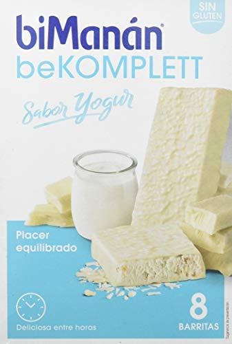 biManán - beKOMPLETT - Placer Equilibrado - Barritas Yogur - 8uds 304 gr