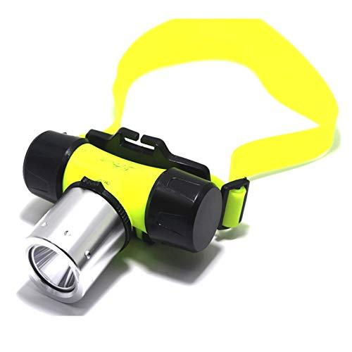 RongWang 6800 Lúmenes XML T6 LED 3 Modos Impermeable Faro De Buceo Faro Subacuático Linterna Luz + 18650 Batería/Cargador + Caja