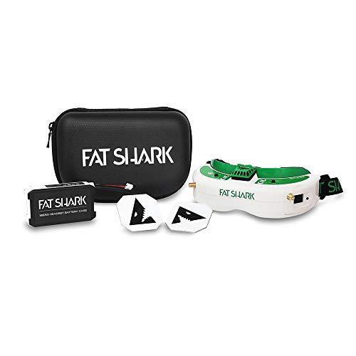 Fat Shark Attitude V6 LCOS Modular FPV Headset, Shark Byte Digital Compatible