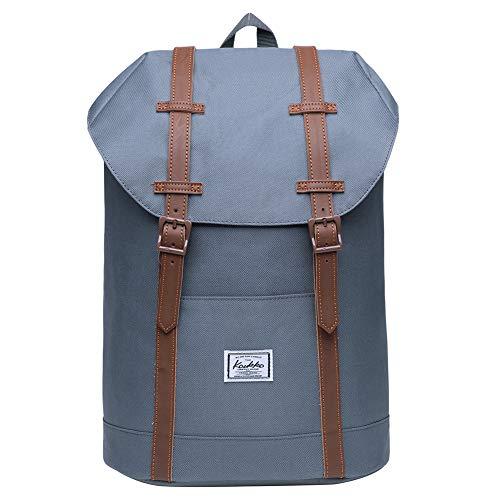 KAUKKO Rucksack Damen HerrenSchön und Praktisch Rucksack für Schule, Uni, Beruf und Freizeit mit Laptopfach Tasche für den Alltag 14L