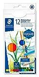 STAEDTLER 14610C C12 Deisgn Journey. Caja con 12 lápices acuarelables de colores surtidos