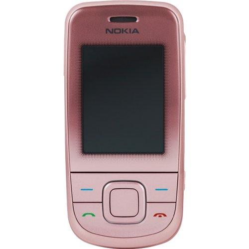 Nokia 3600 Slide GSM Mobile Cellphone Unlocked - International Version No Warranty (Pink)